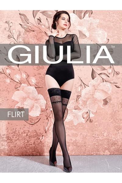 Чулки фантазийные Giulia Flirt 01