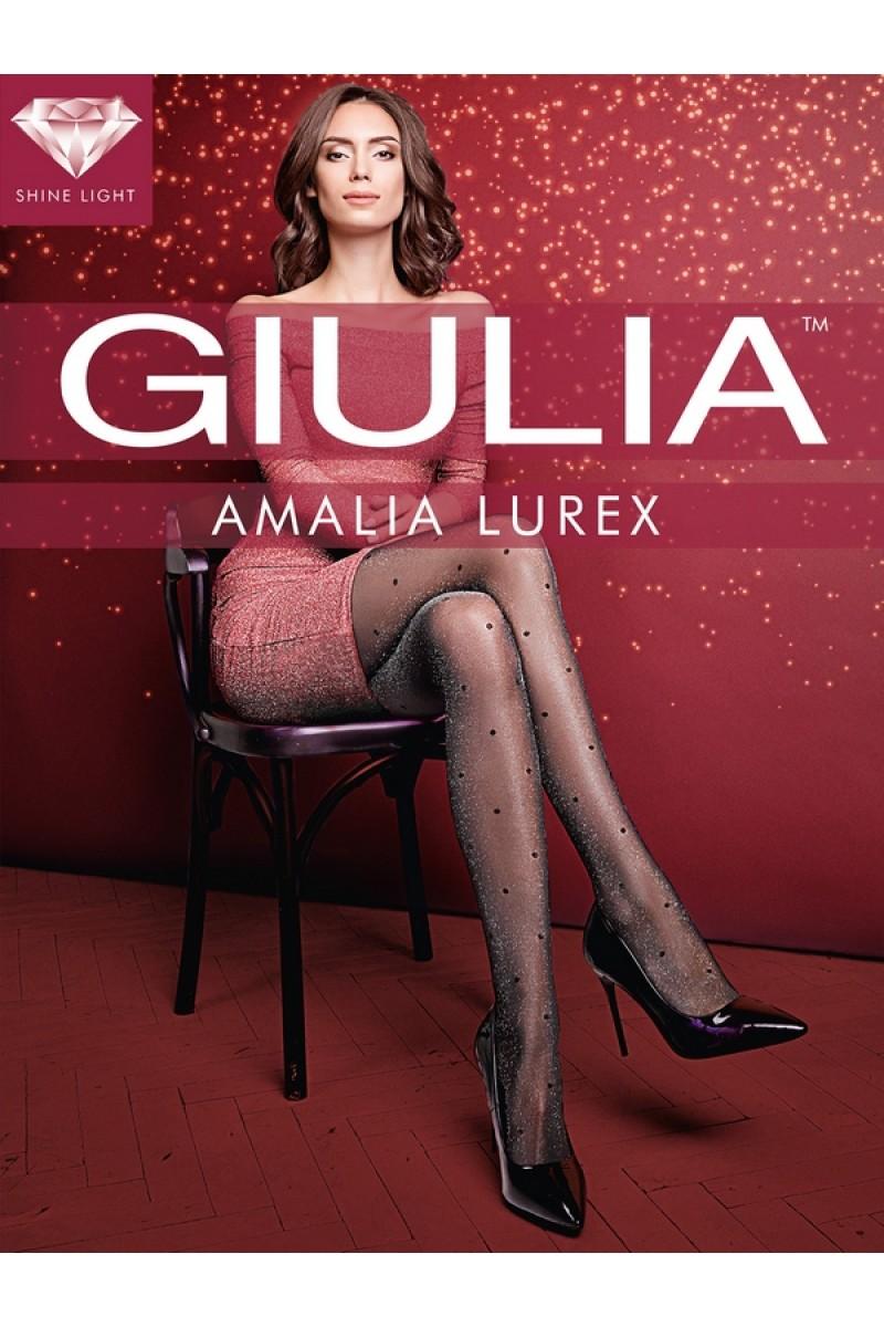 Колготки фантазийные Giulia Amalia Lurex 01