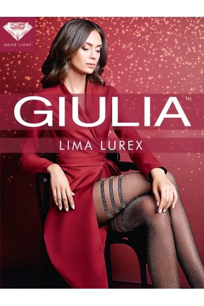 Колготки фантазийные Giulia Lima Lurex 02
