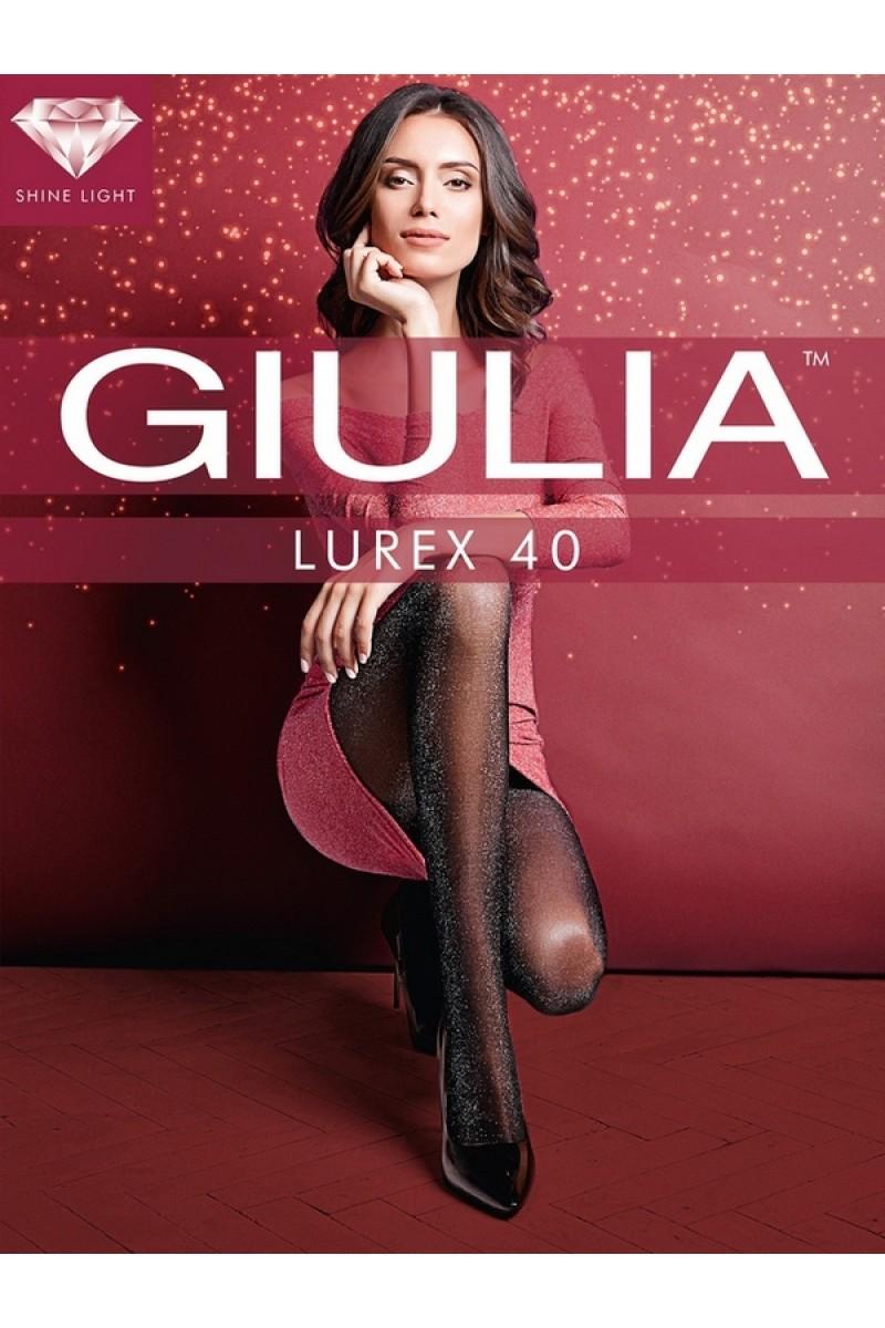 Колготки фантазийные Giulia Lurex 40