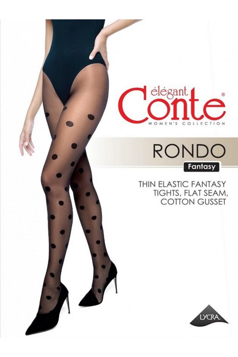 Колготки фантазийные Conte Rondo 20