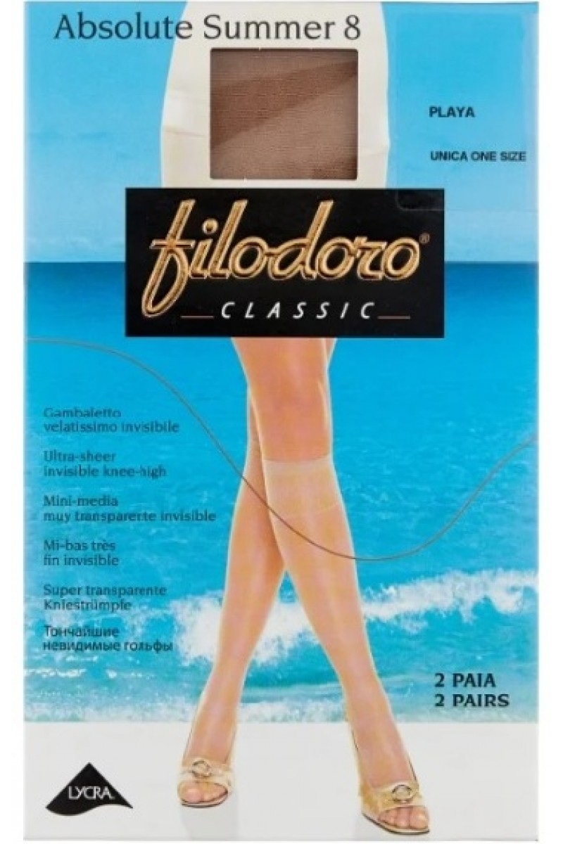 Гольфы женские Filodoro Absolute Summer 8 (2п)