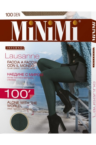 Колготки фантазийные Minimi Lausanne 100
