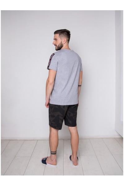 Пижама мужская Indefini PBZ0012