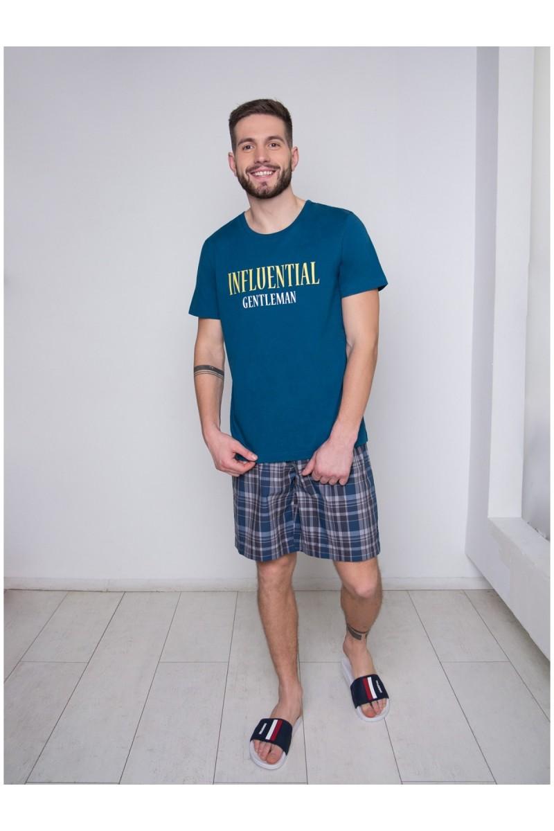 Пижама мужская Indefini PBZ0023