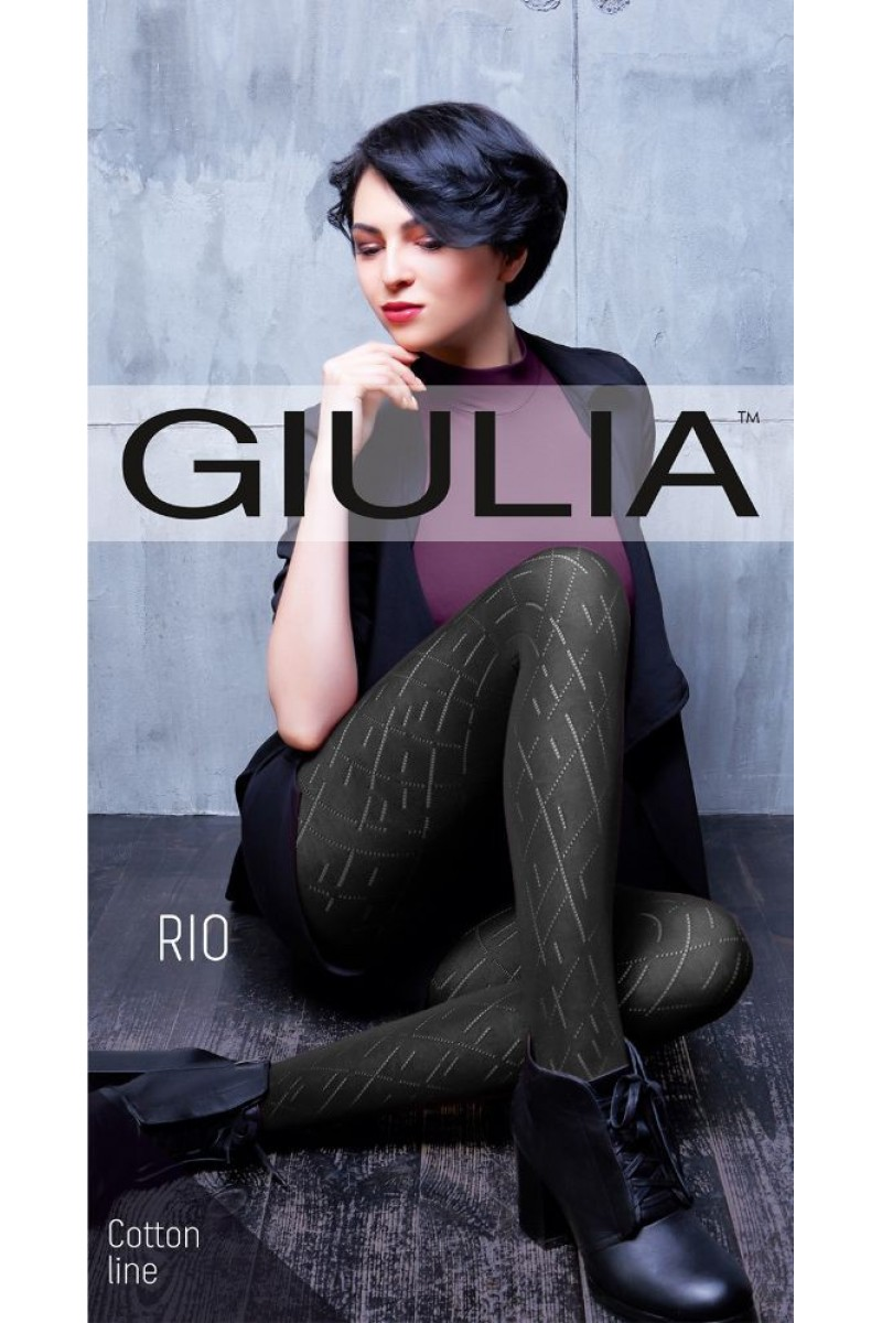 Колготки фантазийные Giulia Rio 11