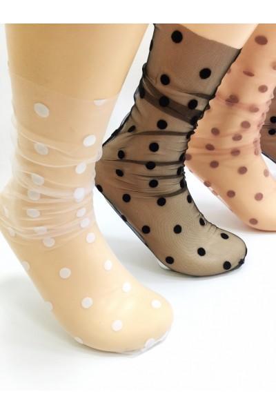 Носки фантазийные Чулок в горох