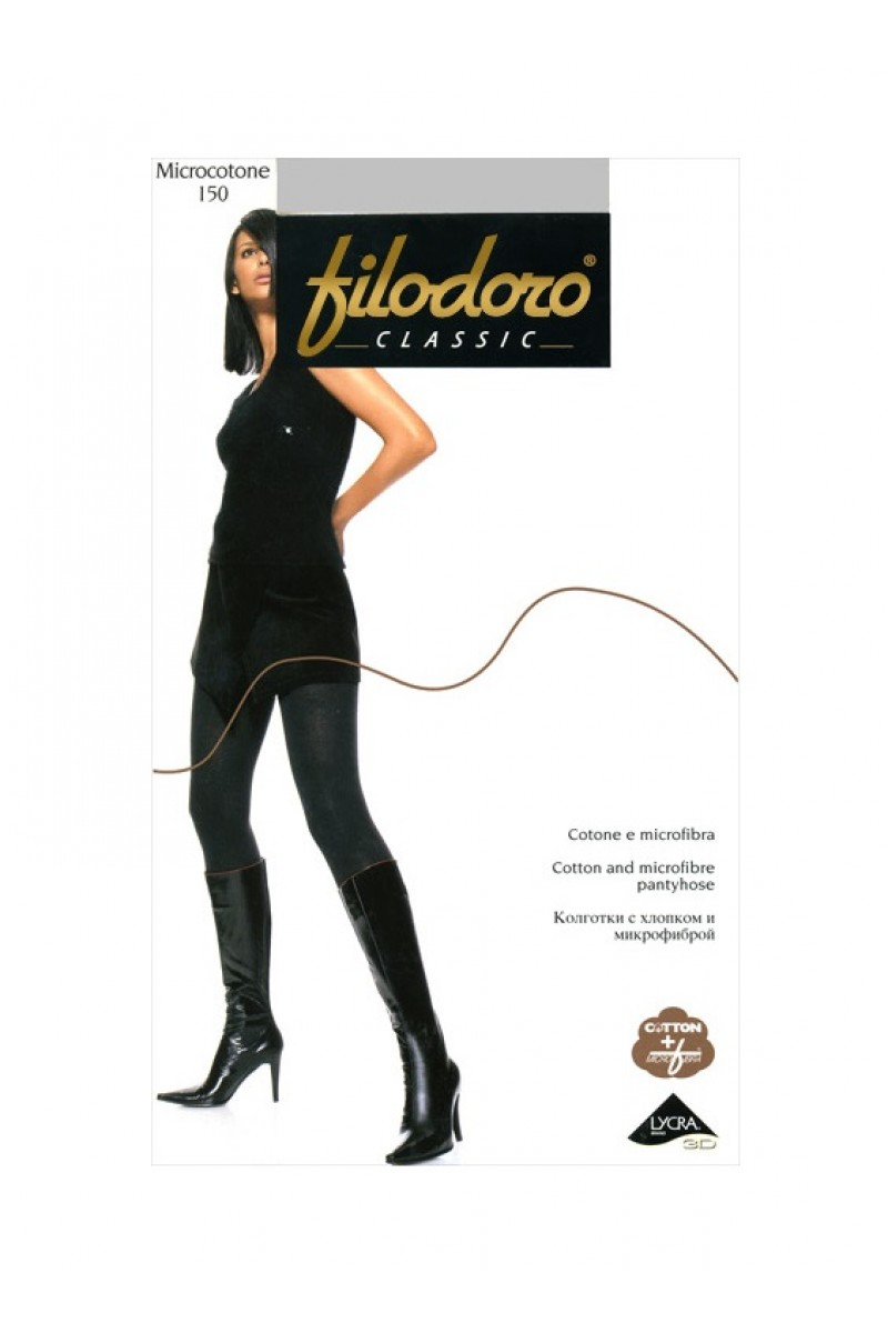 Колготки классические Filodoro Microcotone 150