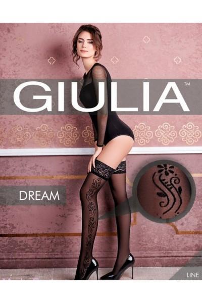 Чулки фантазийные Giulia Dream 01