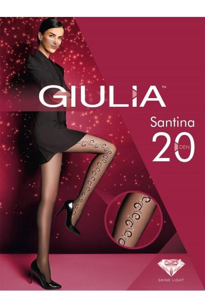 Колготки фантазийные Giulia Santina 10