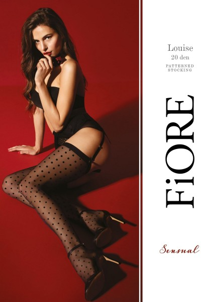 Чулки для пояса Fiore Louise 20