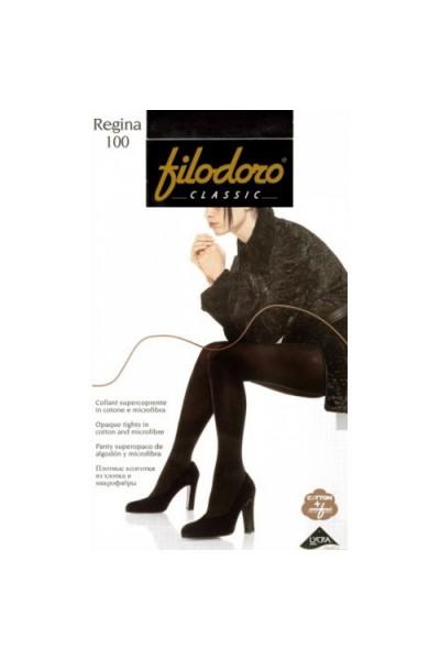 Колготки классические Filodoro Regina 100 XL