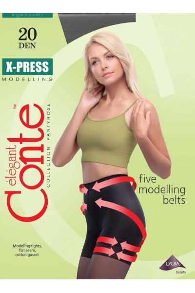 Колготки утягивающие Conte X-Press 20