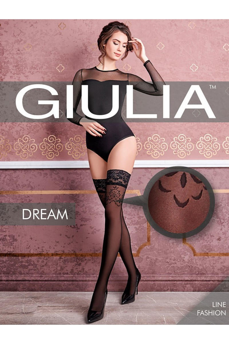 Чулки фантазийные Giulia Dream 02