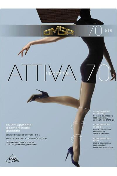 Колготки классические Omsa Attiva 70