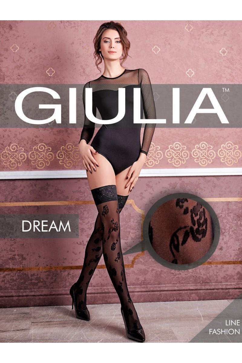 Чулки фантазийные Giulia Dream 03