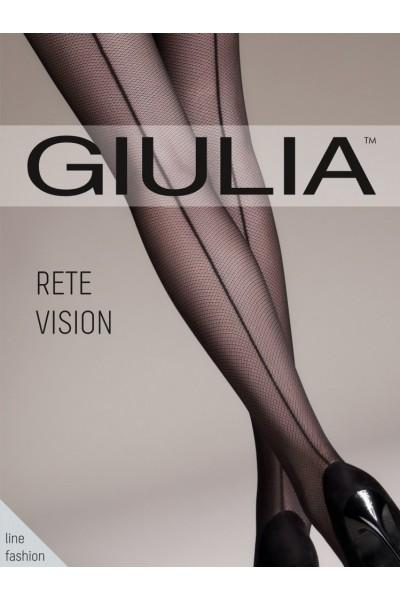Колготки фантазийные Giulia Rete Vision Chic