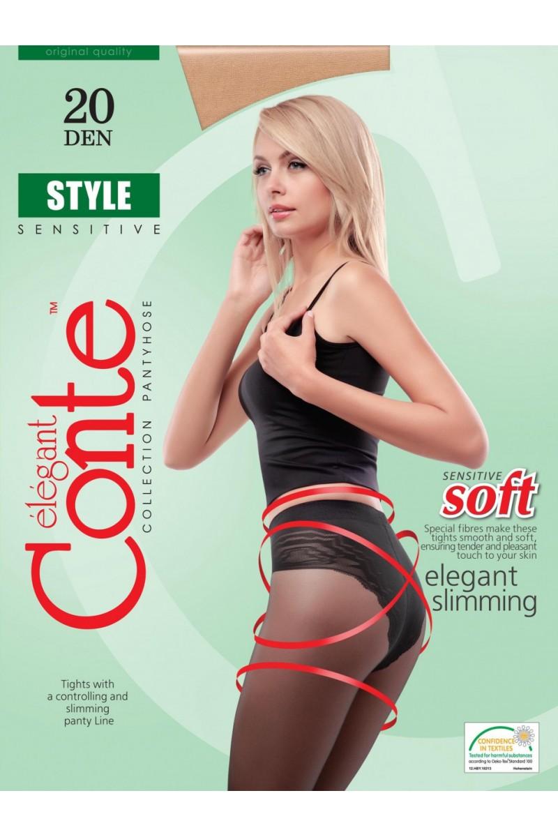Колготки утягивающие Conte Style 20
