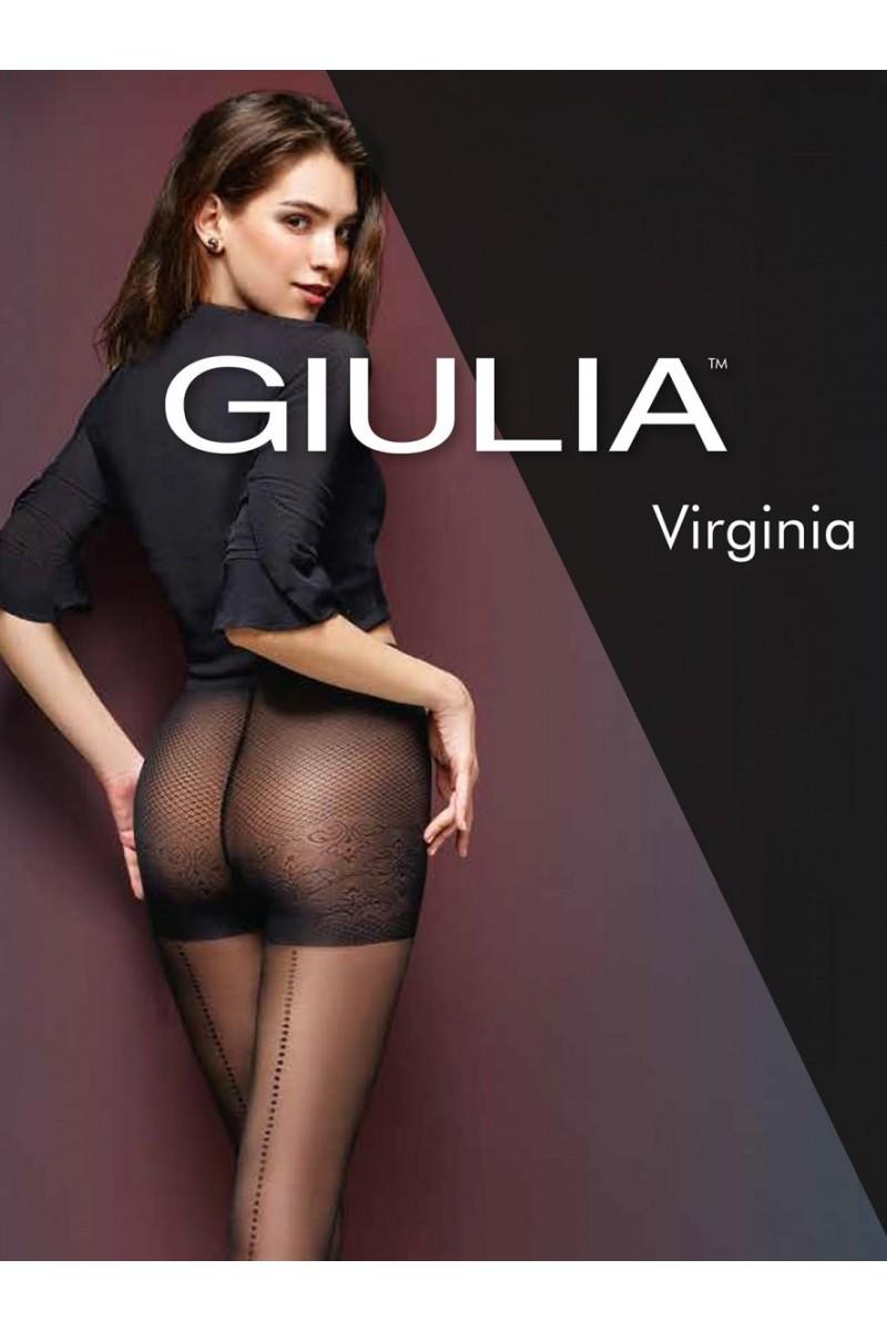 Колготки фантазийные Giulia Virginia 01