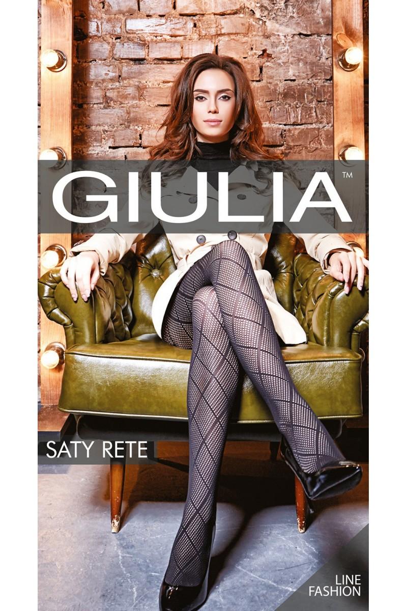 Колготки фантазийные Giulia Saty Rete 02