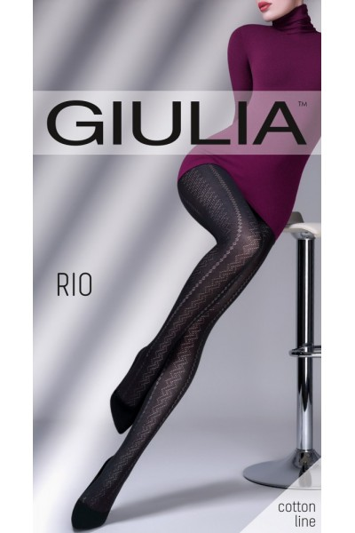 Колготки фантазийные Giulia Rio 03