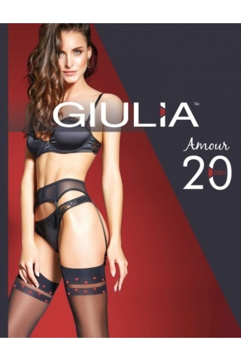 Чулки для пояса Giulia Amour 02