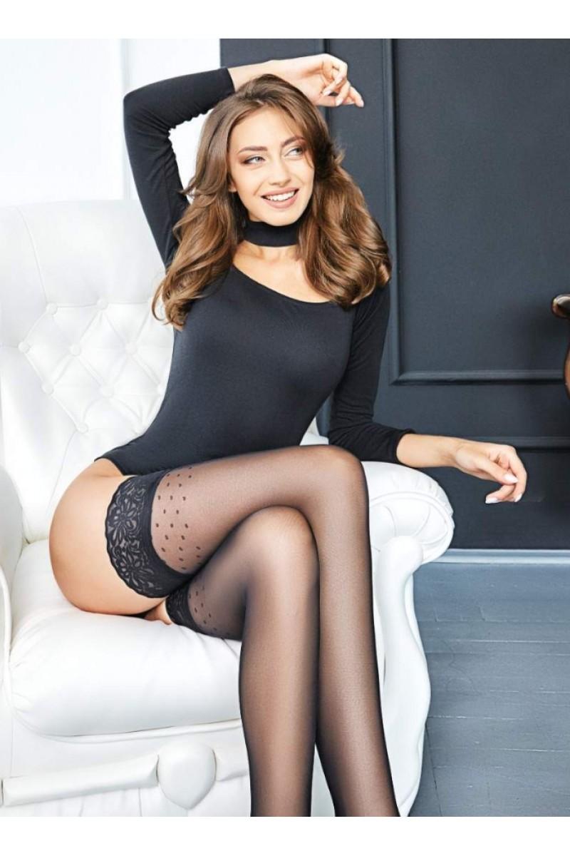 Чулки фантазийные Giulia Omnia 01