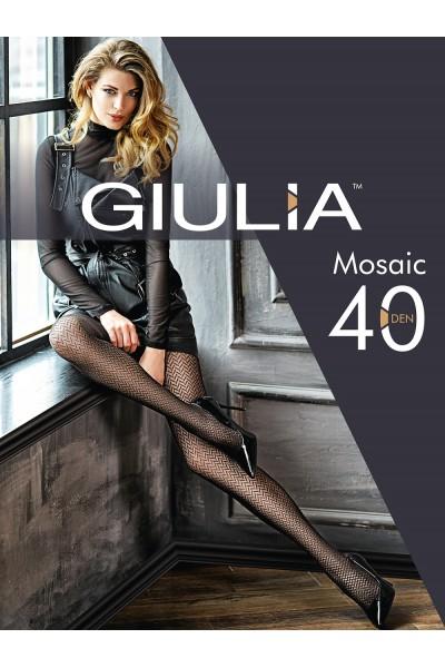 Колготки фантазийные Giulia Mosaic 01
