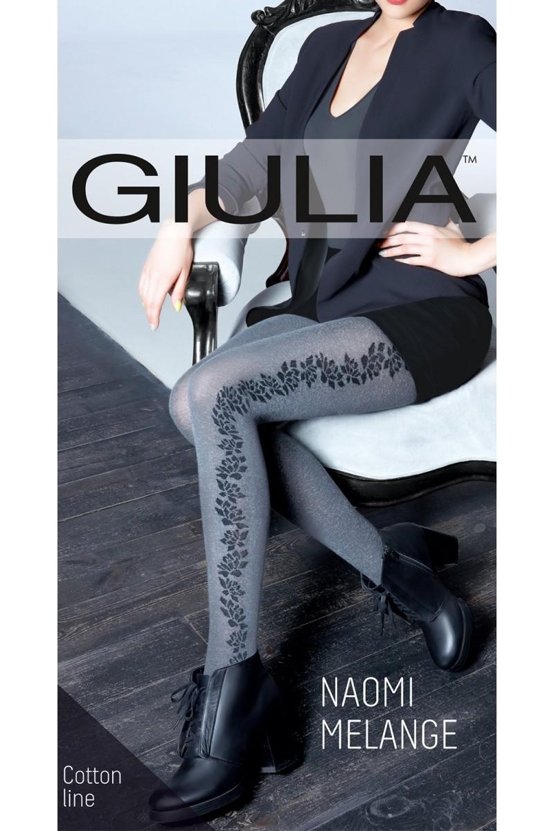 Колготки фантазийные Giulia Naomi Melange 02