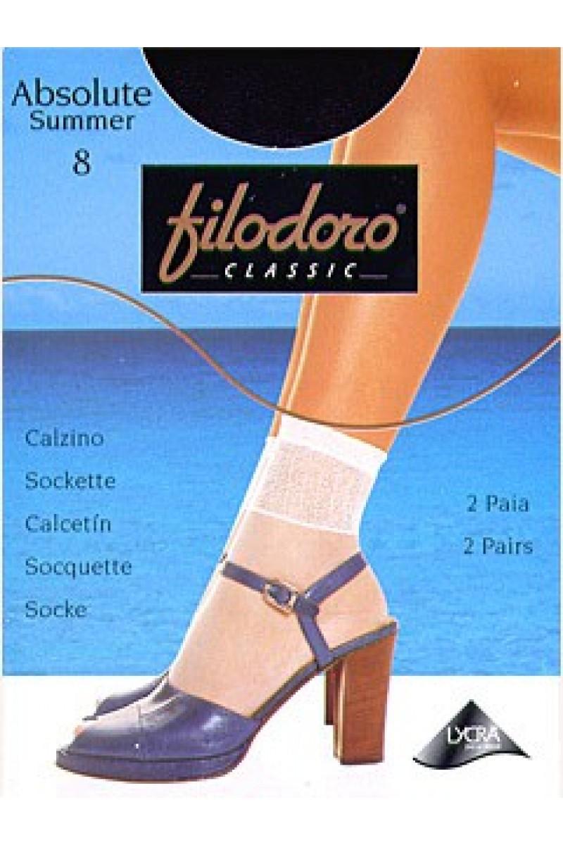Носки женские Filodoro Absolute Summer 8 (2п)