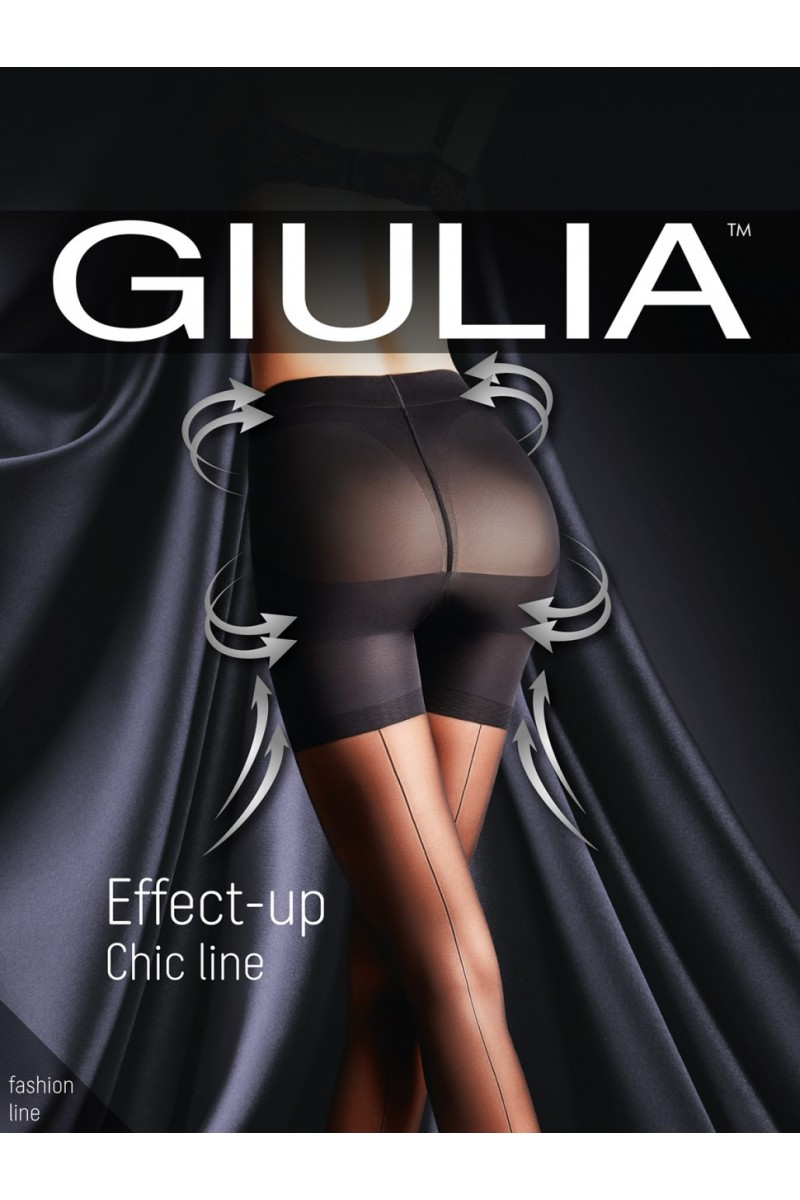 Колготки фантазийные Giulia Effect Up Chic Line