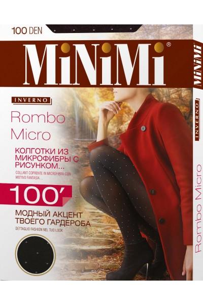 Колготки фантазийные Minimi Rombo Micro 100