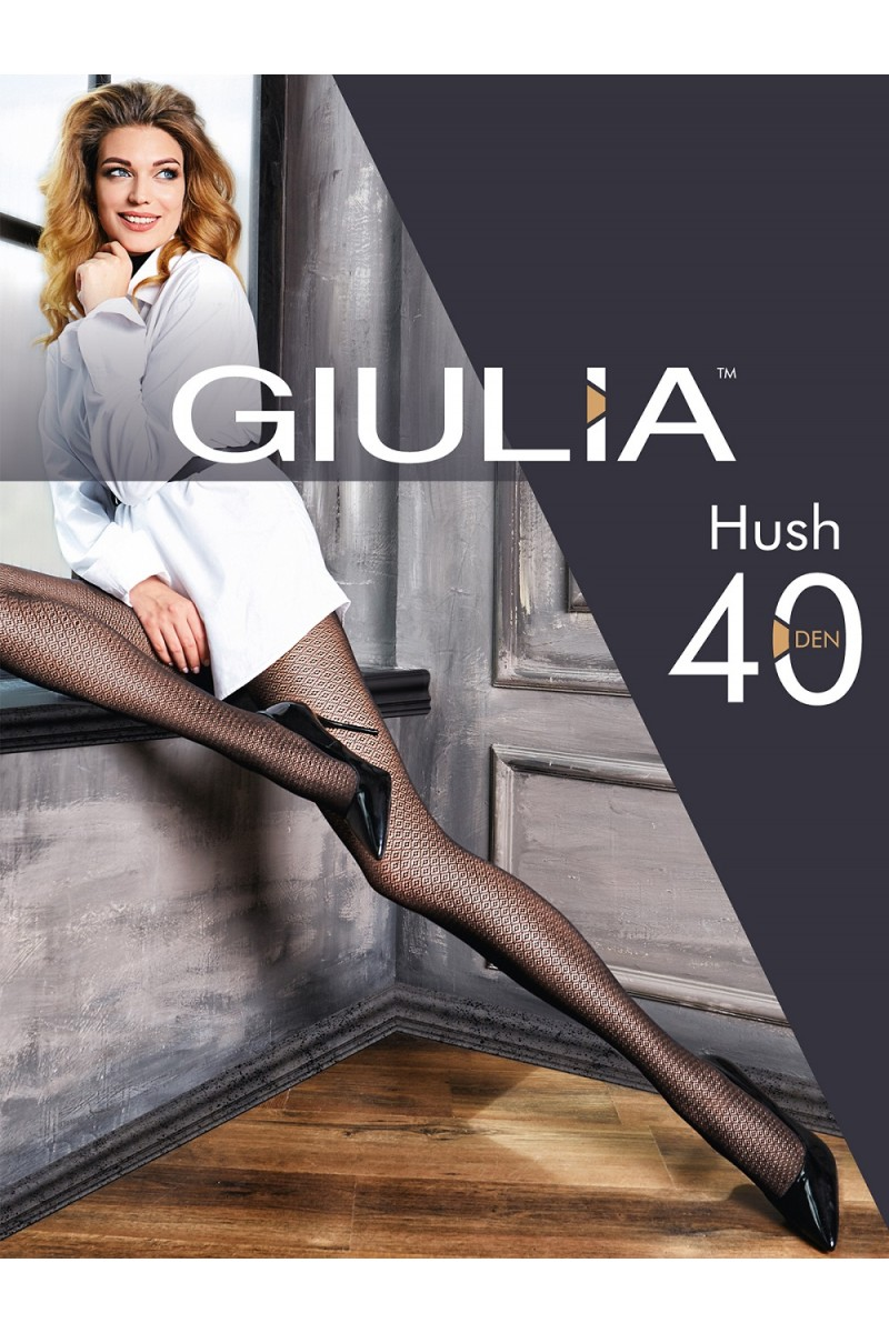 Колготки фантазийные Giulia Hush 03