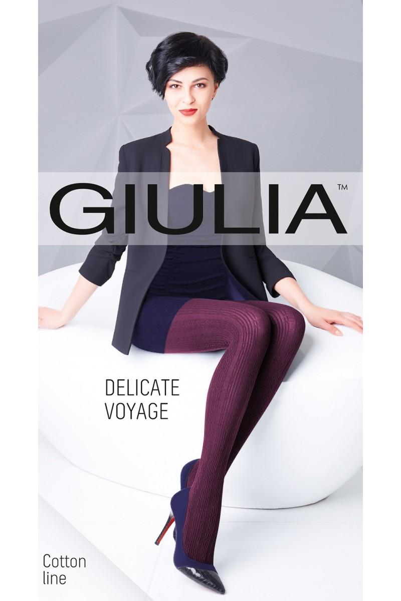 Колготки фантазийные Giulia Delicate Voyage 02