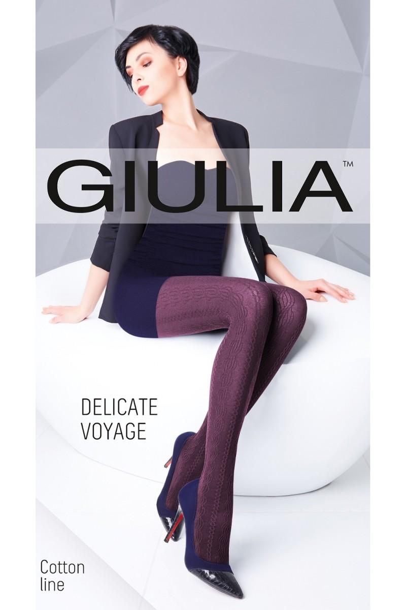 Колготки фантазийные Giulia Delicate Voyage 03