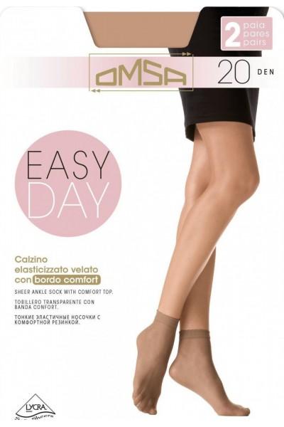 Носки женские Omsa Easy Day 20 (2п)