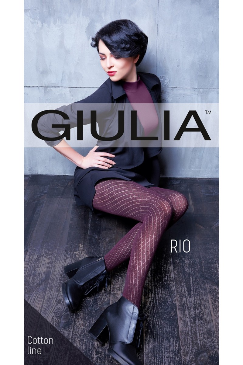 Колготки фантазийные Giulia Rio 12