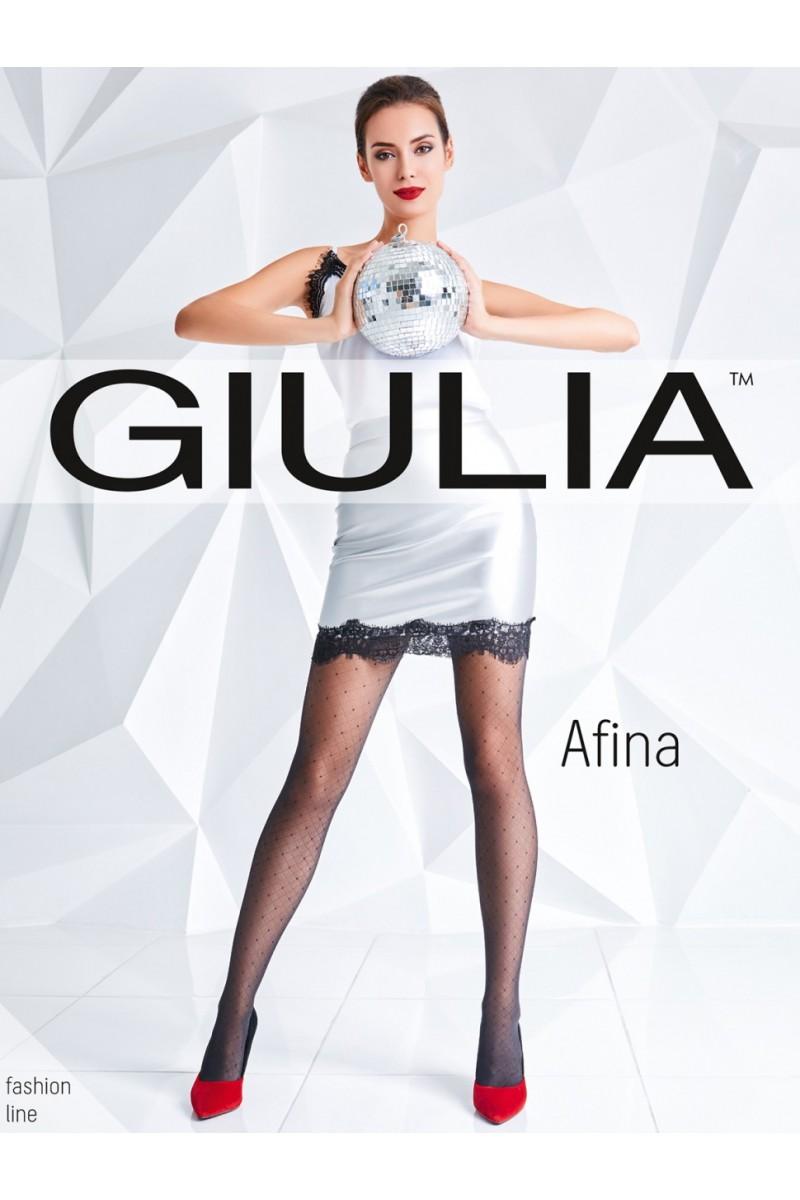 Колготки фантазийные Giulia Afina 03
