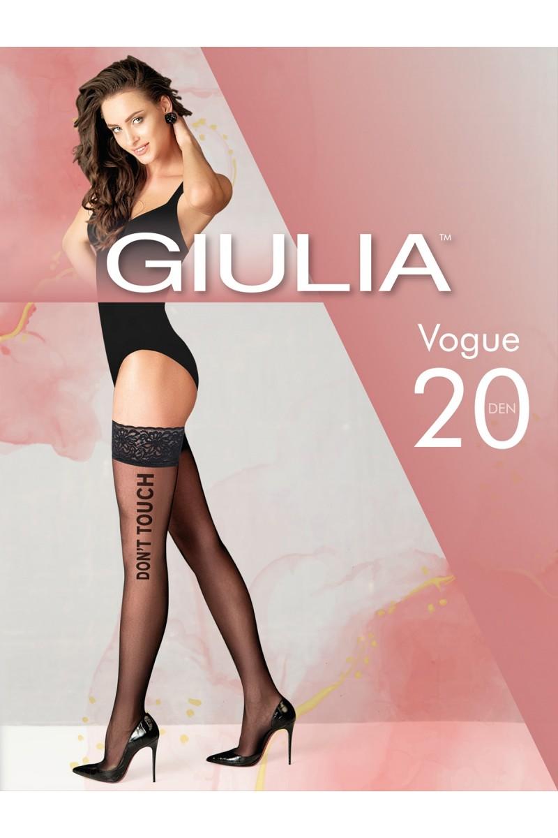 Чулки фантазийные Giulia Vogue 02