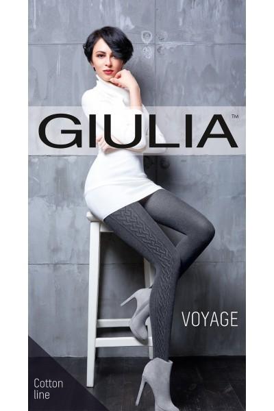 Колготки фантазийные Giulia Voyage 17