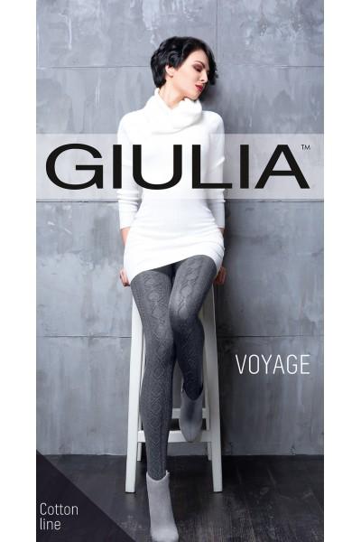 Колготки фантазийные Giulia Voyage 18