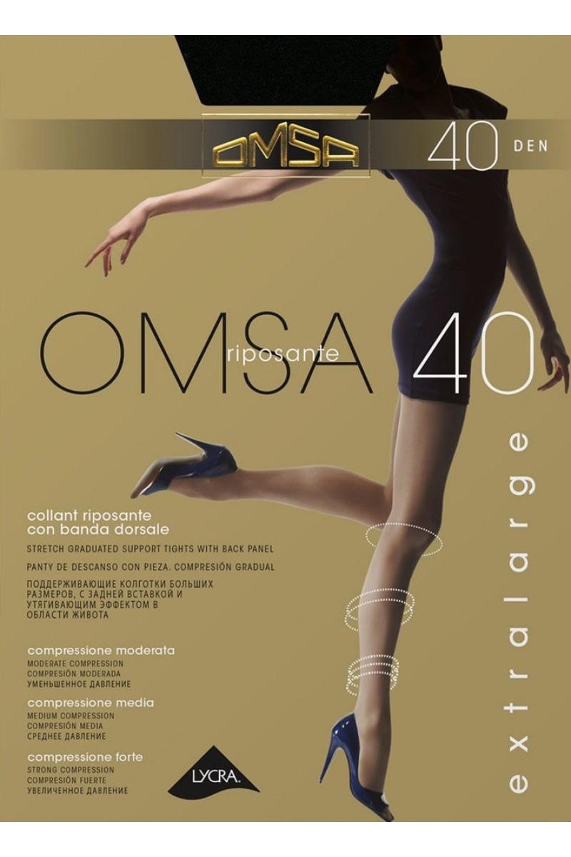 Колготки классические Omsa Attiva 40 XXL
