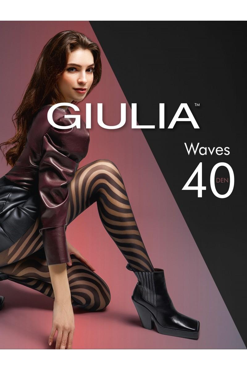 Колготки фантазийные Giulia Waves 02