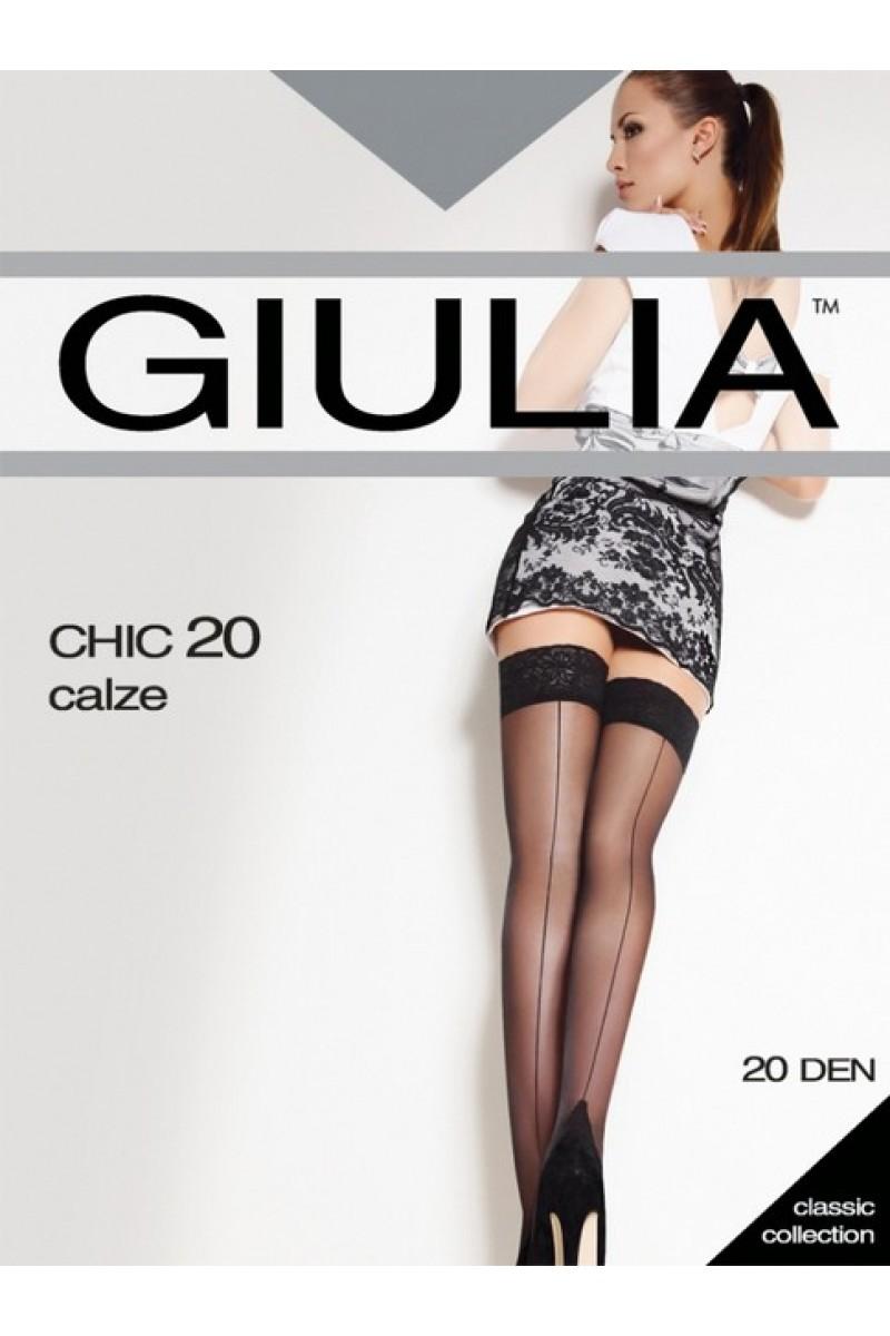 Чулки классические Giulia Chic 20