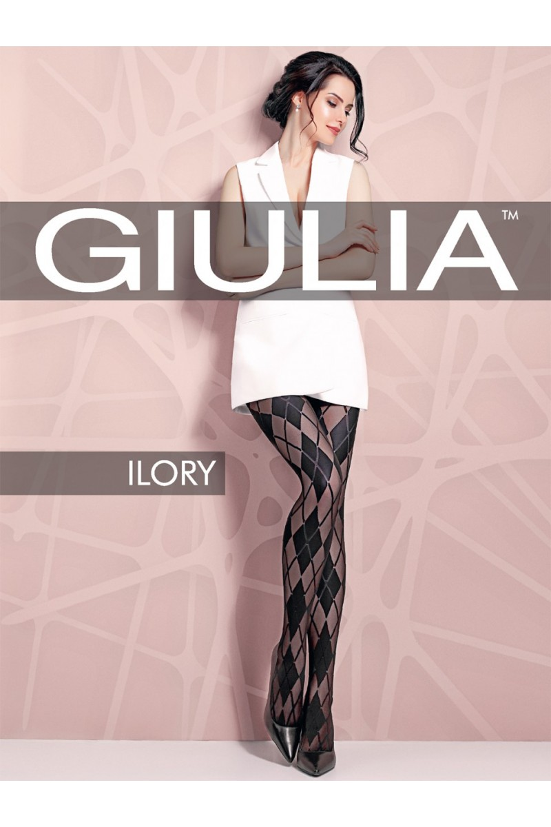 Колготки фантазийные Giulia Ilory 03