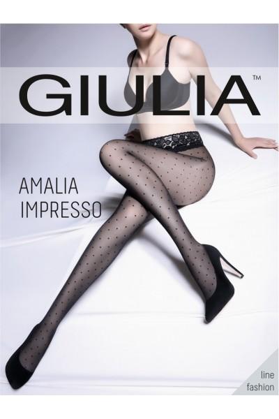 Колготки фантазийные Giulia Amalia Impresso 01