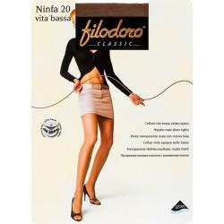 Колготки с заниженной талией Filodoro Ninfa 20 VB