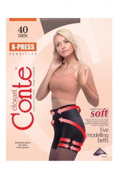 Колготки утягивающие Conte X-Press 40