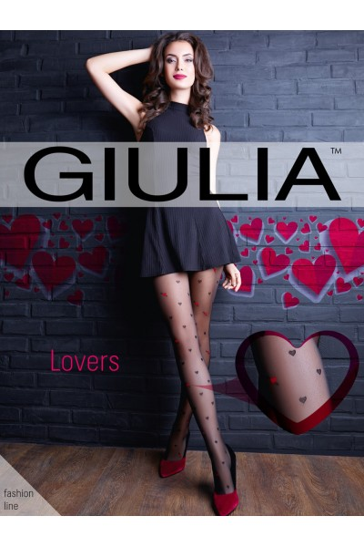 Колготки фантазийные Giulia Lovers 10