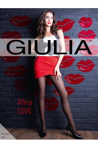 Колготки фантазийные Giulia Afina Love 02
